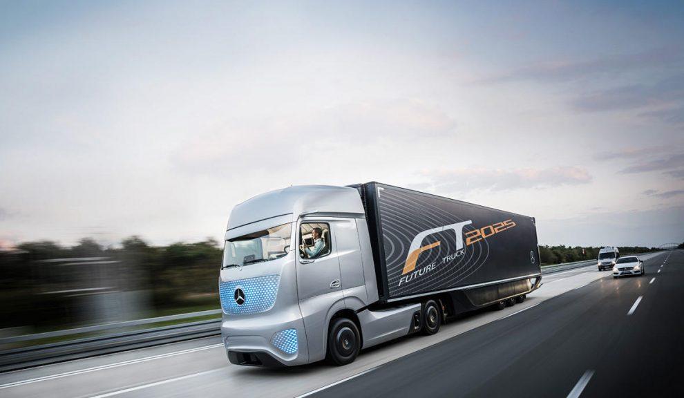 Lkw der Zukunft Daimler