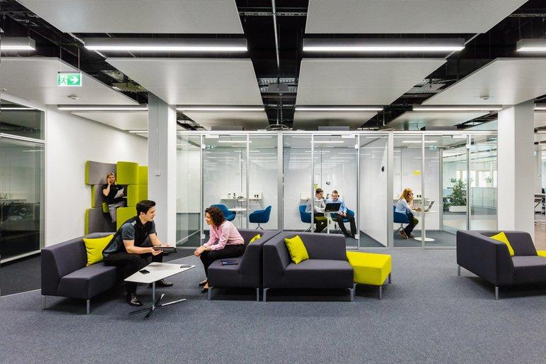 Moderne bürokonzepte  Arbeitswelt: Mercedes-Benz setzt weltweit auf modernes Büro