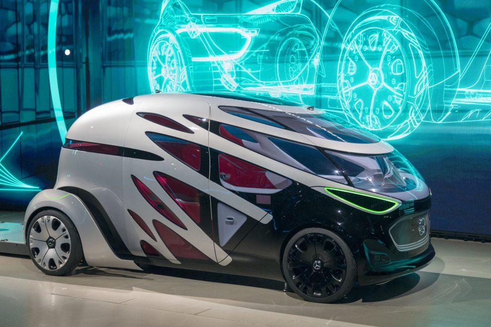 Mercedes-Benz Vans präsentiert auf der CES 2019 ein neues Mobilitätskonzept.
