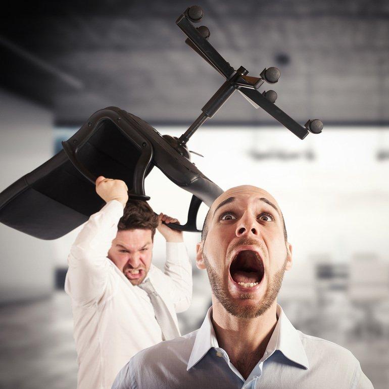 Arbeitsrecht Gewalt Am Arbeitsplatz Vermeiden Industriede