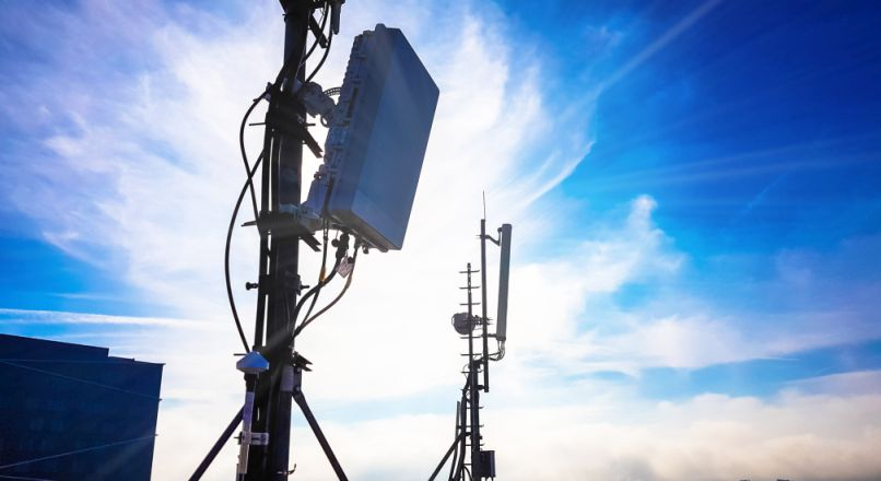 5G Mobilfunkmast