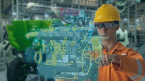 AR Maintenance Maschinebau mit 5G