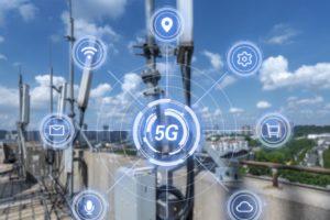 5G Sendemast Campusnetz