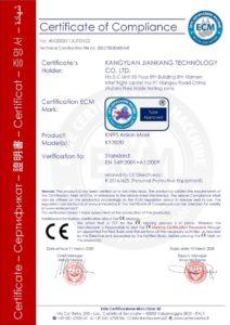 falsches Zertifikat für Atemschutzmaske