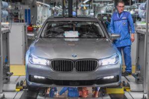 Produktion BMW 7er