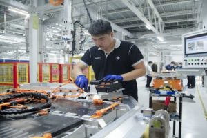 Batterieproduktion bei BMW Brilliance China