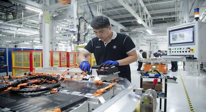 Batterieproduktion bei BMW Brilliance China