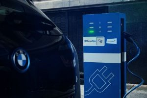 BMW Charge Now Ladestation