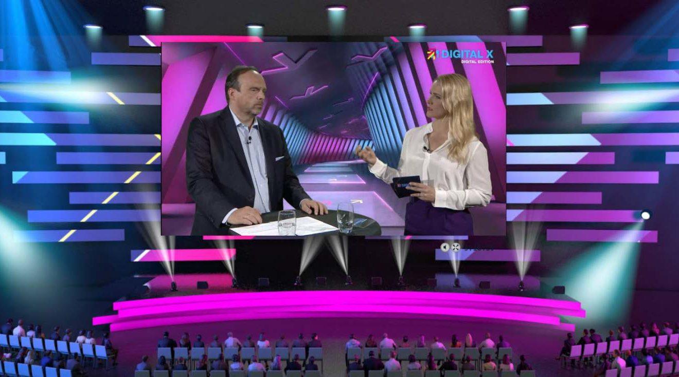 Hagen Rickmann, Schirmherr der Digital X, im Gespräch