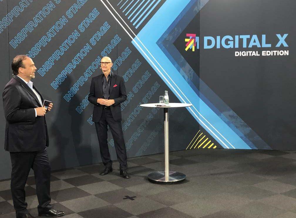 Digital-X Hagen Rickmann im Gespräch mit Tim Höttges