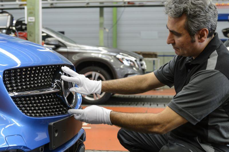 Mercedes-Benz Montage Rastatt