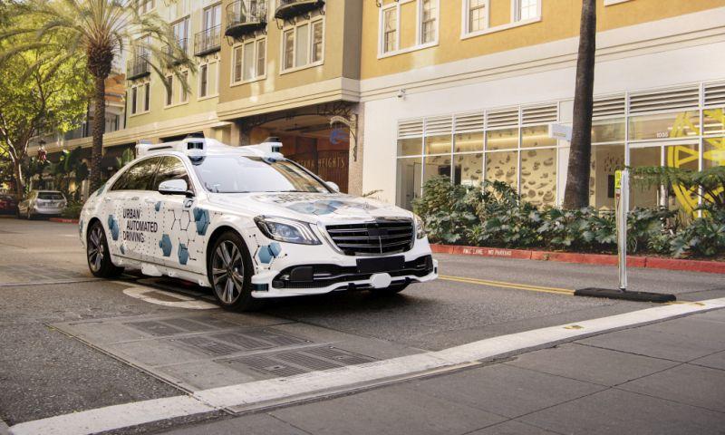 Daimler Bosch automatisiertes Fahren in San José
