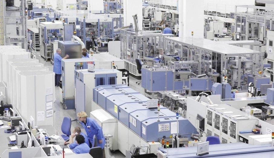 Smarte Fabrik