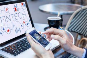Fintech Laptop Smartphone