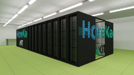 Heureka Supercomputer am KIT