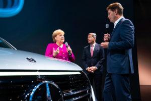 Bundeskanzlerin Merkel auf IAA 2019
