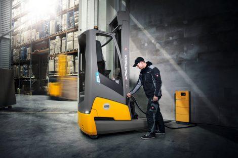 """Sieger in der Kategorie """"Warehouse Truck"""": Jungheinrich"""