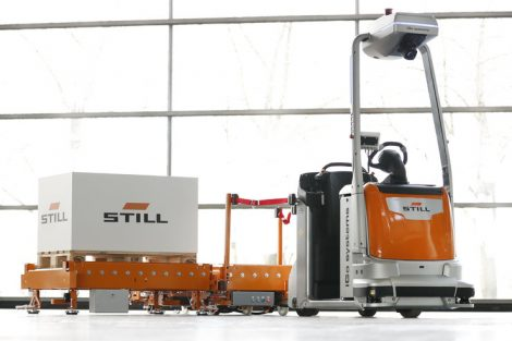 "Sieger in der Kategorie ""AGV & Intralogistics Robot"": Still GmbH"