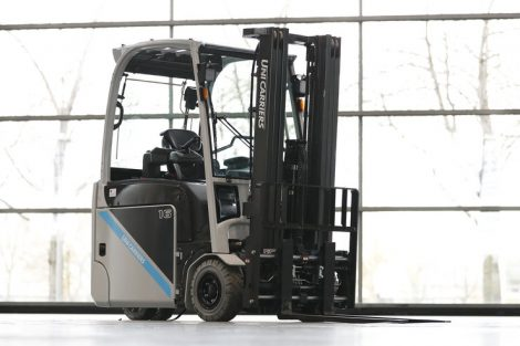 "Sieger in der Kategorie ""Counter Balanced Tuck"": UniCarriers Europe AB."