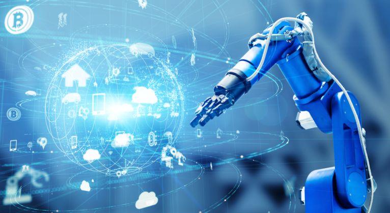 Roboterarm mit Sensorik