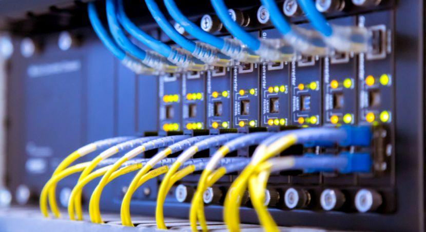 Netzwerkkabel Server