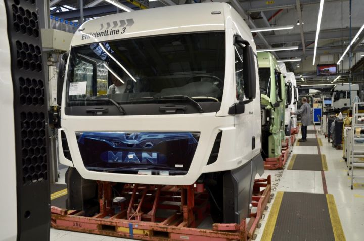 MAN Truck Produktion