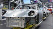 Porsche Sportwagen Produktion