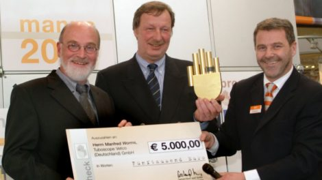 Preisverleihung manus Award 2005
