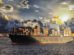 Containerschiff auf Ozean