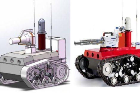 Siemens Desinfektions-Roboter