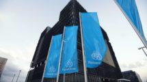 Thyssenkrupp Gebäude Fahne