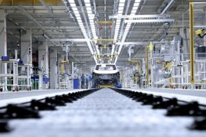 Fertigung SAIC VW in China.