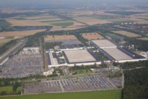 VW-Werk Salzgitter Luftaufnahme