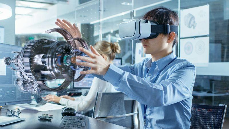 Virtual Reality Maschinenbau