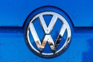 VW Logo Regen