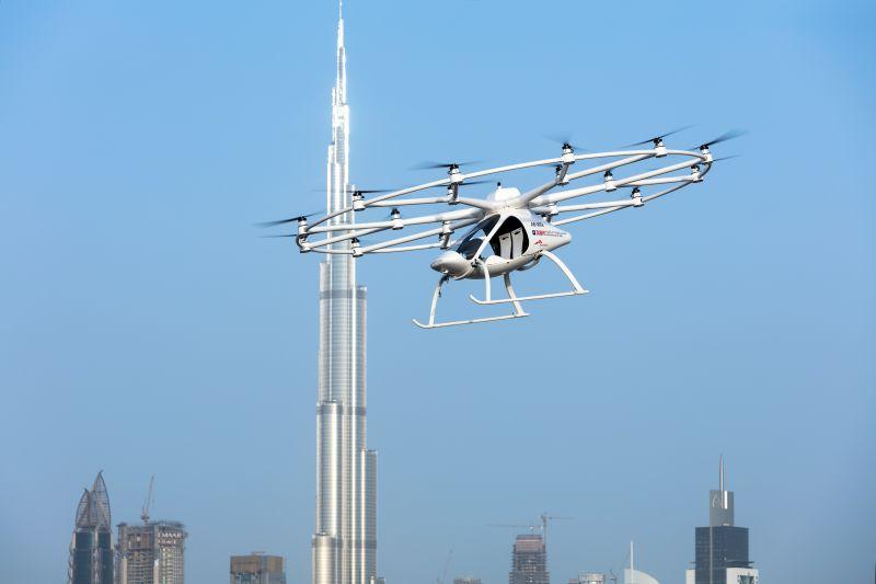 Flugtaxis in Dubai