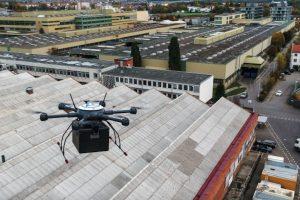 ZF Drohne Werkverkehr