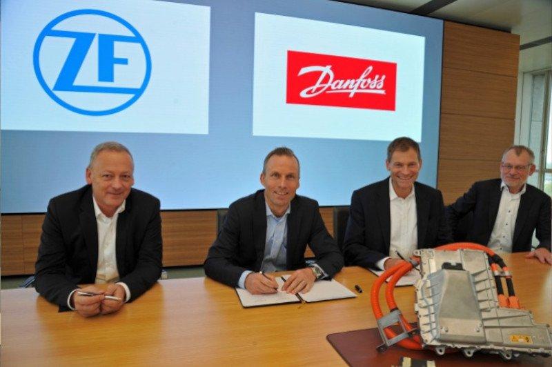 ZF Danfoss Partnerschaft