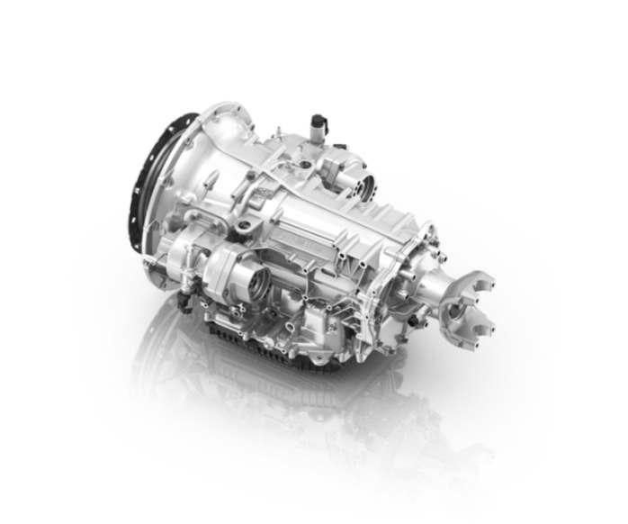 Das 8-Gang-Automatgetriebe PowerLine von ZF