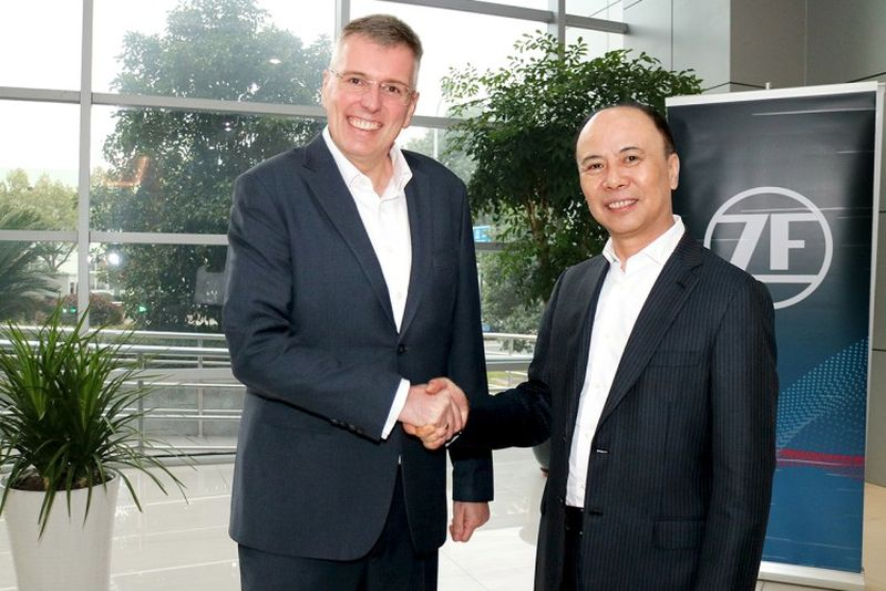 ZF_Wolong Electric Joint Venture