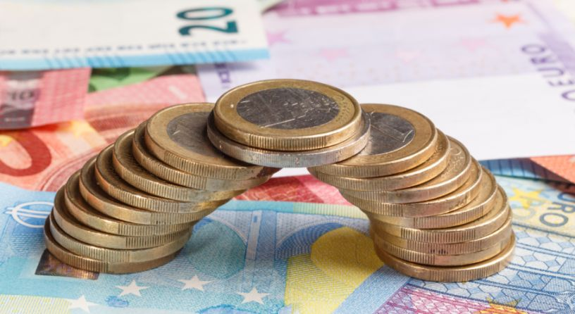 Überbrückungsgeld Euro Münzen
