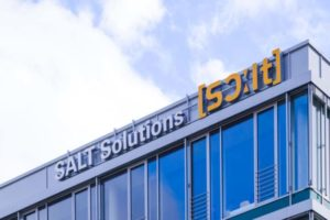 Gebäude von Salt Solutions in Würzburg. Die AG gehört jetzt zu Accenture.