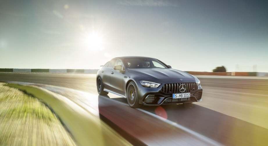 Philipp Schiemer wird auch für den Mercedes-AMG GT 63 (hier im Bild) verantwortlich sein. Bild: Daimler