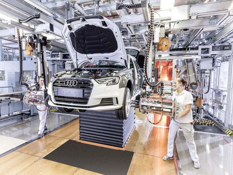 Audi Produktion Stellenabbau Dieselskandal