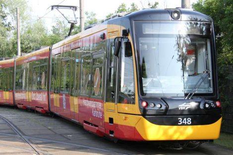 Messstraßenbahn in Karlsruhe