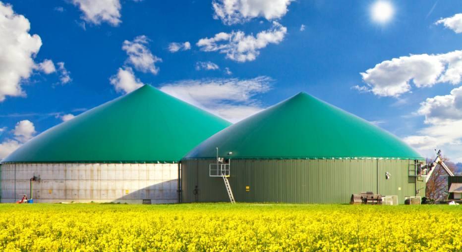 Biogasanlagen sollen in Zukunft auch für die Wasserstoff-Erzeugung genutzt werden. Jürgen Fälchle Adobe Stock