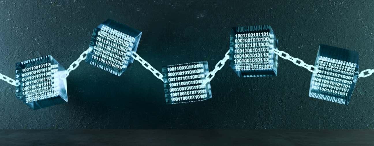 Grafische Darstellung einer Blockchain. Bild: fotomek/stock.adobe.com
