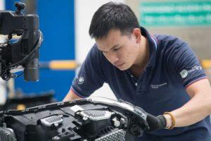 BMW Batterieproduktion Thailand