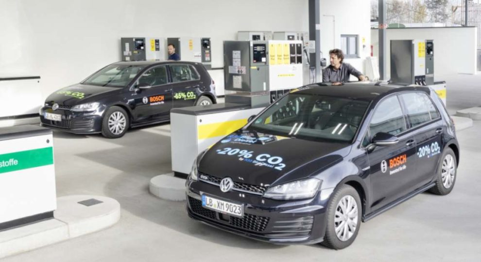 Bosch: Blue Gasoline an Tankstellen
