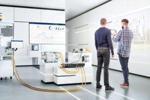 Das High-Voltage Lab Rig (HVLR) von Bosch